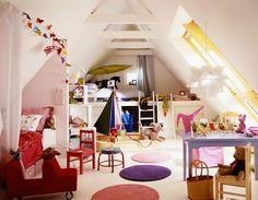 Platz zum Toben brauchen Kinder genauso wie eine stille Ecke zum Lesen und Ausruhen. Und wenn zwei Kinder in einem Raum leben, ist es gar nicht schlecht,...