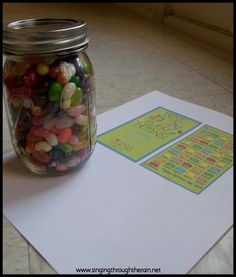 Daddy Jelly Bean Jar Countdown- also works well with M Deployment Tools, Deployment Countdown, Military Deployment, Military Girlfriend, Military Life, Jelly Bean Jar, Jelly Beans, Gift Jars, Jar Gifts