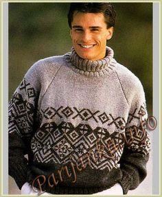 Пуловер (м) 852 Creations 1996/1997 Bergere de France №3716