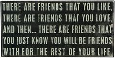 I know that I will be best friends with my bestie for the rest of my life Bff Quotes, Best Friend Quotes, Friendship Quotes, Quotes To Live By, Youre My Person, Bestest Friend, Box Signs, Know Who You Are, Best Friends Forever