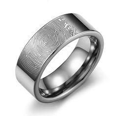Caperci Men's 8mm Fingerprint Tungsten Carbide Ring Comfort Fit Size 7 Caperci http://www.amazon.com/dp/B00SKS4S2K/ref=cm_sw_r_pi_dp_rGlCvb0VFV6N6