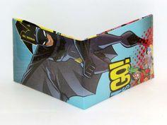 Comic Book Wallet// Batman and Teen Titans: Starfire, Robin, and Cyborg, $4.00
