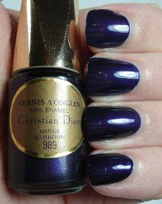 Dior Marine Blueberry