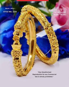 Nose Ring Jewelry, Diamond Jewelry, Silver Jewelry, Jewellery, Gold Bangles Design, Jewelry Design, Bridal Bangles, Indian Jewelry, Chur