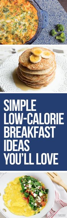 25 Breakfast Recipes Under 300 Calories - You'll want to try them all!