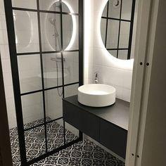 Passage bathroom: new layout Modern Bathroom Design, Bathroom Interior, Bedford House, Interior Architecture, Interior Design, Home Board, Bathroom Goals, Bathroom Styling, Home Renovation