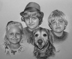 """A Pencil Portrait, conte pencil and white pastel pencil, 12x15""""  50% off all my Pencil Portraits, limited time! Details on my blog: http://ritakirkman.blogspot.com/2016/12/pencil-portrait-holiday-special.html"""