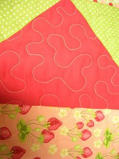 Great tutorial on machine quilting