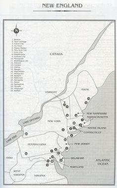 Map Of Dc America Dc Comics Comic Vine Marvel Comics