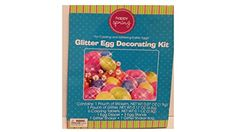 Glitter Egg Decorating Kit by Happy Spring * Read more at the image link.-It is an affiliate link to Amazon.