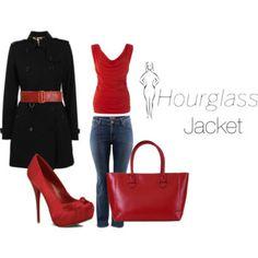 Hourglass Shape: Jacket
