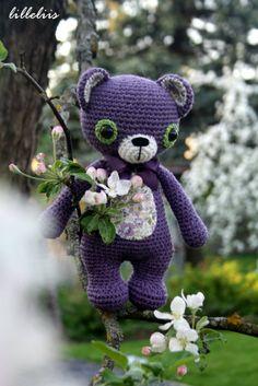 Treasure the Teddy - amigurumi pattern