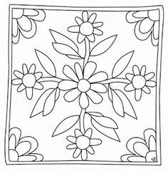 mandala coloring pages pdf Rangoli Borders, Rangoli Border Designs, Border Embroidery Designs, Floral Embroidery Patterns, Flower Coloring Pages, Mandala Coloring, Cushion Embroidery, Brazilian Embroidery Stitches, Painting Templates