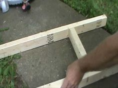 How to Build an Inexpensive Hive Stand