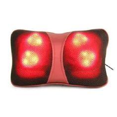 Mua Gối mát-xa hồng ngoại Magic Energy Pillow Puli PL-818 (Đỏ)  chính hãng, giá tốt nhất tại Lazada.vn, giao hàng tận nơi, với nhiều chương...