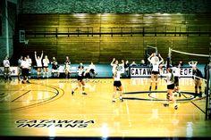 Catawba Volleyball #gocatawba #volleyball