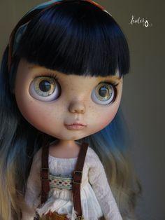 OOAK custom blythe doll-art doll Matixa by von XeiderDolls auf Etsy