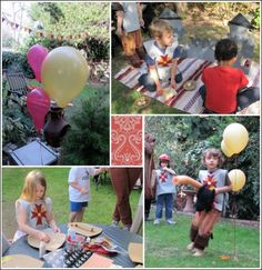 Catapult game, decorate your own shield/crown, and jousting tournament.