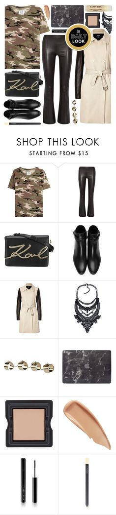 """""""camo shirt"""" by foundlostme ❤ liked on Polyvore featuring Zoe Karssen, The Row, Karl Lagerfeld, Yves Saint Laurent, DKNY, Maison Margiela, Agent 18, Serge Lutens, Sisley and Marc Jacobs"""