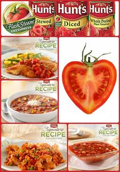 Heart healthy cooking with Hunt's tomatoes #HuntsRecipes