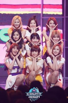 TWICE!! cheer up, at first it took me a while to get used to this song but now I REALLY like it!!