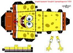 Spongebob Papercraft