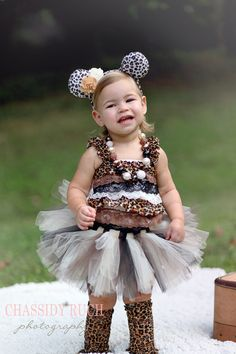 Leopard Halloween Costume -  Tutu Cute  Leopard Costume - Girl Toddler Baby Infant Newborn Halloween Costume  sc 1 st  Pinterest & boutique halloween costumes for kids - Google Search | halloween ...