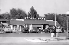 Steak n shake road break. Chicago, 1947