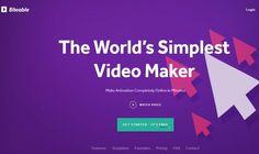 Biteable es una aplicación web que podemos usar de forma gratuita para crear vídeos de aspecto profesional de forma sencilla y rápida.