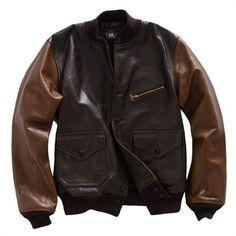 [RRL/Meyers Leather Jacket]アメカジ ファッション|ヴィンテージ ファッション|ジェイクルー