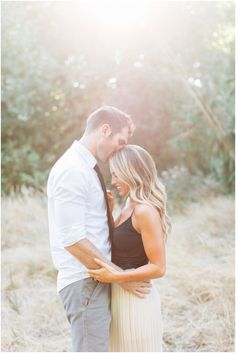 romantic fall engagement photos