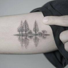 17 Best ideas about Lake Tattoo on Pinterest | Winter tattoo, Ink ...