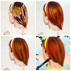 How to paint hair in oils by Australian artist Rose Miller of Wolfgang and Rose art. Rose explains this super easy and logical method of painting hair in oils. Rose also explains the technique of painting glazes and glazing in oil paint.