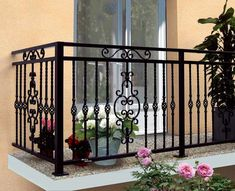 Interior Shutters For Sale Exterior Stair Railing, Patio Railing, Interior Railings, Interior Shutters, Balcony Grill Design, Balcony Railing Design, Window Grill Design, Iron Staircase, Staircase Railings
