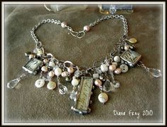 ♡this is so pretty, a nice mixture of pretty beads and soldered words