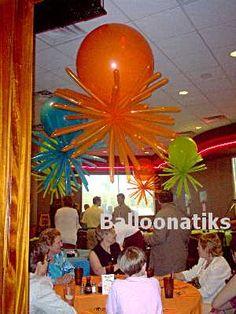Starburst 3' balloons