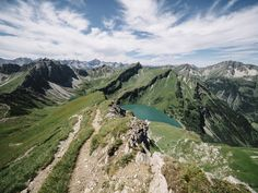 Tannheimer Tal, Schochenspitze, Traualpsee