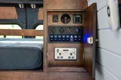 Out of Order Design — OOOD Van Van Conversion Kitchen, Van Conversion Interior, Camper Van Conversion Diy, Hiace Camper, Vw Camper, White Washed Pine, Kombi Motorhome, Campervan Interior, Mercedes Sprinter