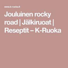 Jouluinen rocky road   Jälkiruoat   Reseptit – K-Ruoka