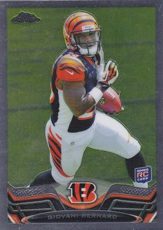 Giovani Bernard 2013 Topps Chrome Rookie card RC  # 96   MINT FROM PACK