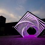 Tunnel of Light Patterns by Yang Minha