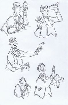 Milt Kahl - Edgar, the butler, from The Aristocrats