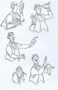 Milt Kahl - Edgar, the butler, from The Aristocrats
