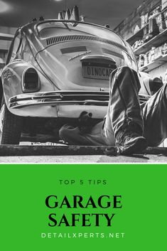 Having the right knowledge of care care and garage safety tips is a must as it will help you to maintain your car in the right way and will also save you from unwanted injuries. Car Safety Tips, Care Care, Garage, Carport Garage, Garages, Car Garage, Carriage House