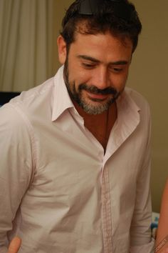 Jeffrey Dean Morgan-I just can't help it...he is soooo attractive! Those dimples and smile and rich brown eyes....gah!