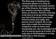 Illusion of a  narcissist.  Narcissistic sociopath relationship abuse
