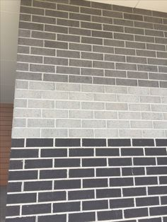 I like the middle colour, for a more neutral look. Grey Exterior, House Paint Exterior, Exterior House Colors, Modern Exterior, Brick Facade, Facade House, House Facades, Brick Wall, Small Space Interior Design