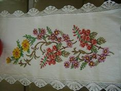 Stitch Crochet, Cross Stitch Designs, Doilies, Art Pieces, Embroidery, Sewing, Yandex, Couture, Vintage