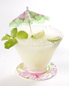 """This irresistible key lime mojito cocktail is from """"Essentially Lilly."""""""