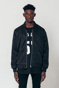 3D-Embossed Neoprene Jacket